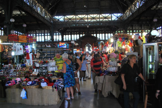 O Mercado Central do Chile é escolhido entre os top 10 Food Markets do mundo, pela NATGEO