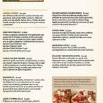 Hard Rock Café menu