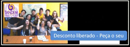 Tandem escola de idiomas, cupom de desconto Chile, LikeChile