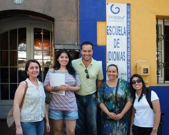 Escola de espanhol em Santiago Chile