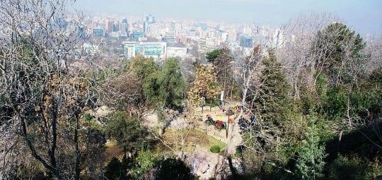 Morro San Cristóbal, são cristóvão Chile, LikeChile, Cerro San Cristobal, Teleferico, funicular, bondinho