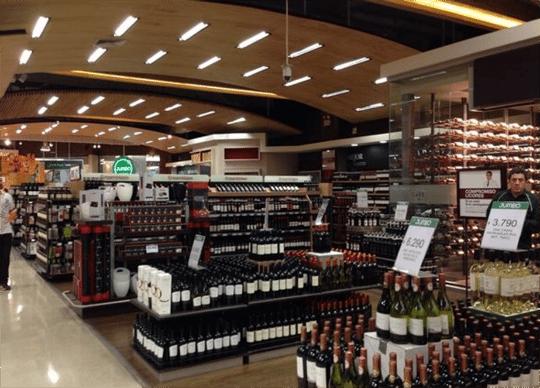 dica compra vinho no chile no supermercado