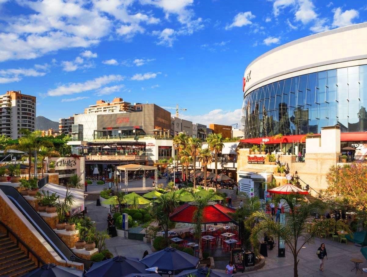 Shopping Parque Arauco em Santiago do Chile, LikeChile, onde fazer compras
