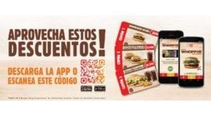 Cupom Desconto - Burger King