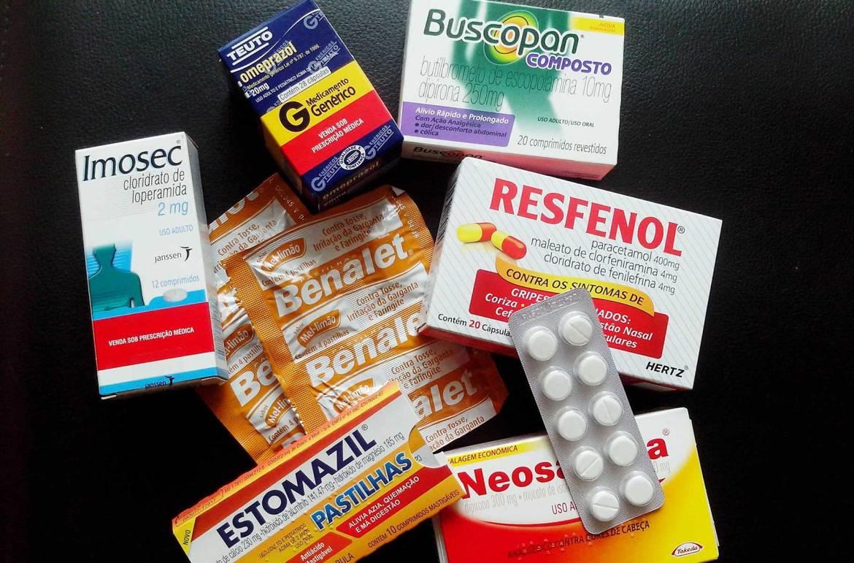 Remédio na viagem
