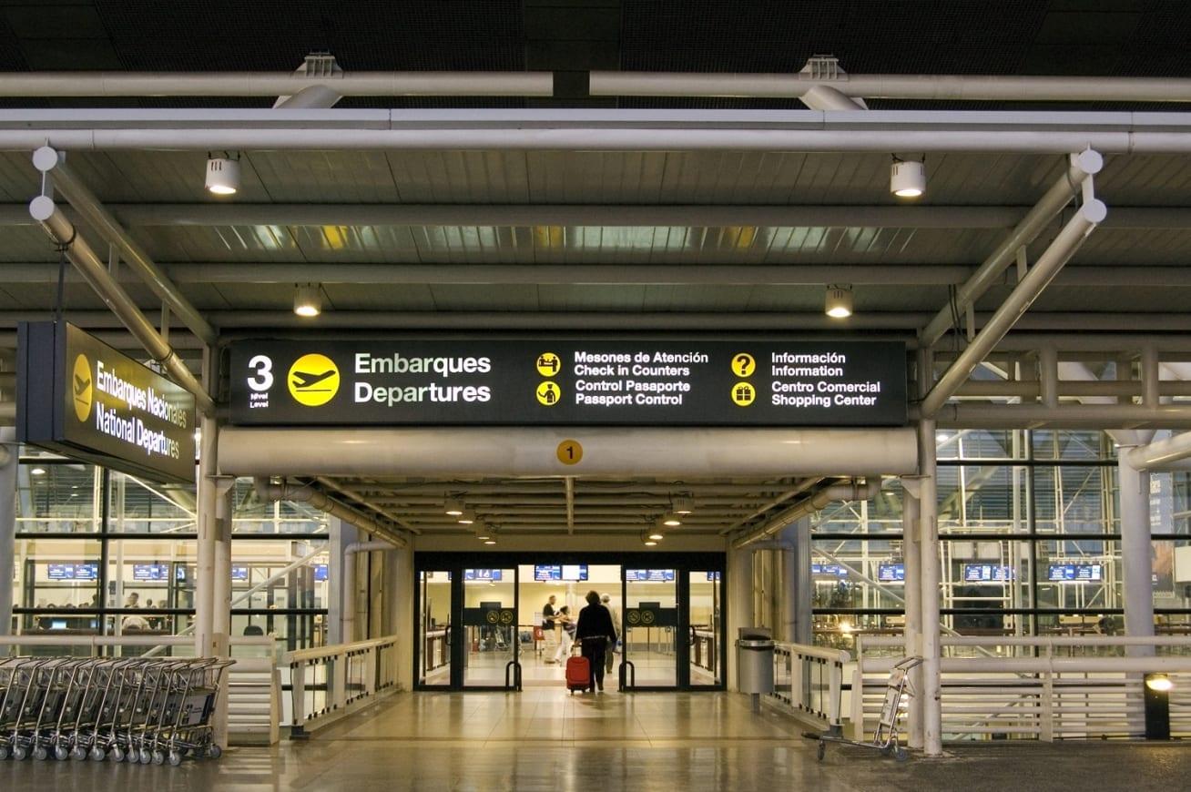 aeroporto de santiago do Chile, transfer, transporte público