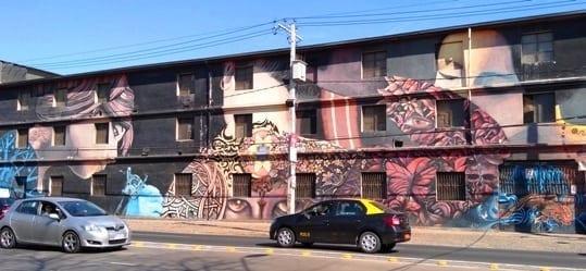 museu a ceu aberto San Miguel, Museo a cielo abierto San Miguel, grafite
