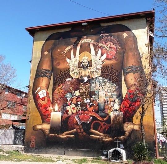 museu a ceu aberto San Miguel, Museo a cielo abierto San Miguel, grafite, LikeChile