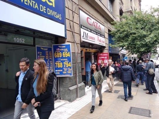Horário casa de câmbios no Chile