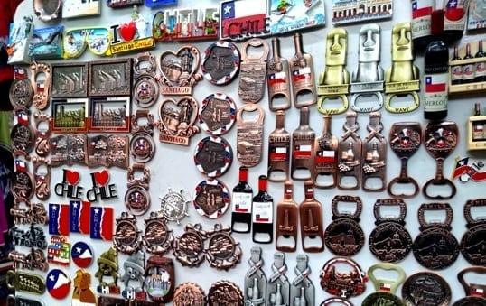 Onde comprar lembrancinhas em Santiago