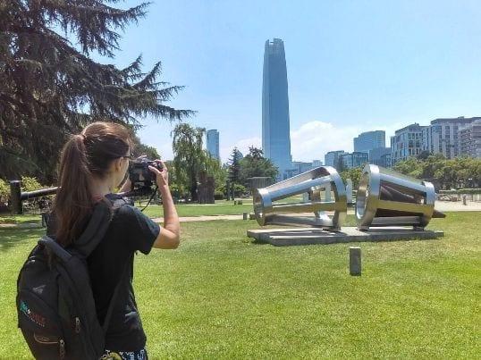 parque das esculturas no Chile