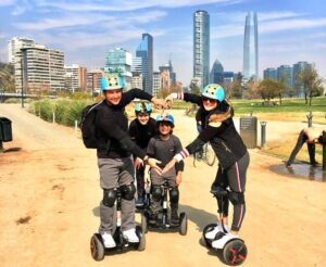 Tour em segway Chile trendy tours, LikeChile