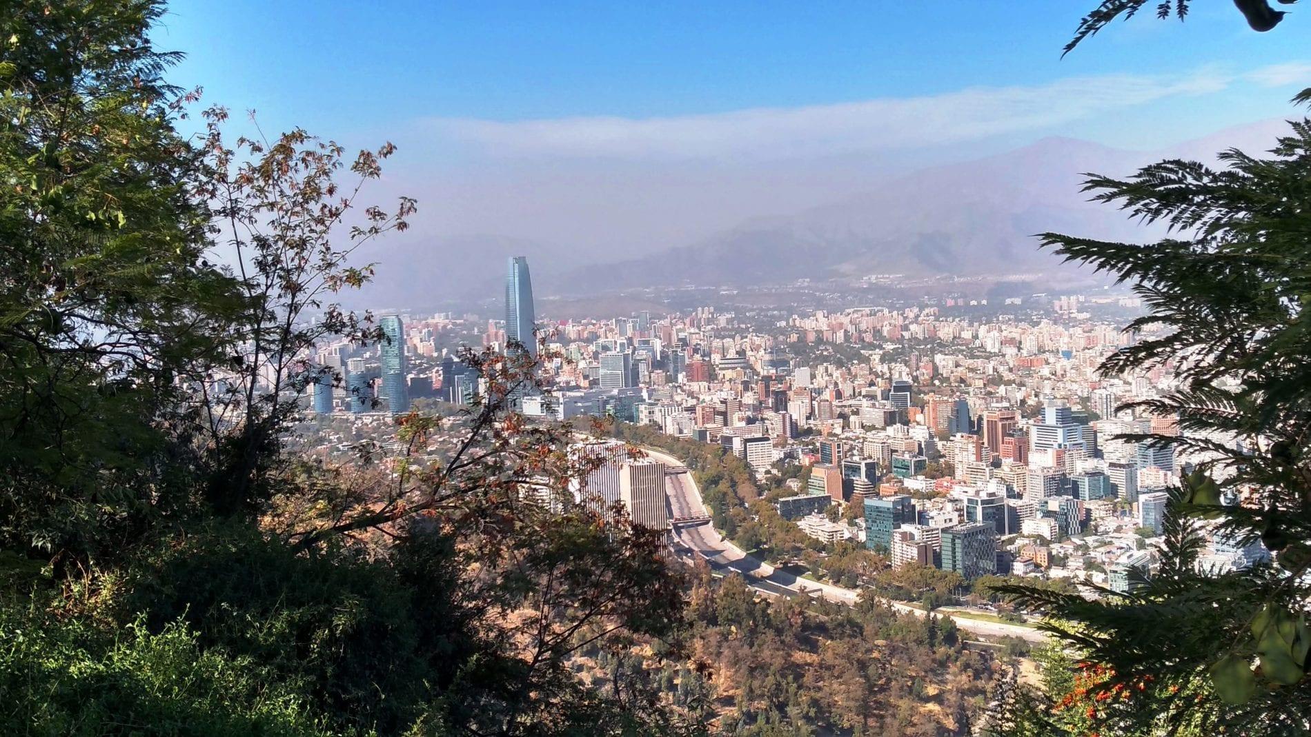 mirador cerro san cristobal, likechile