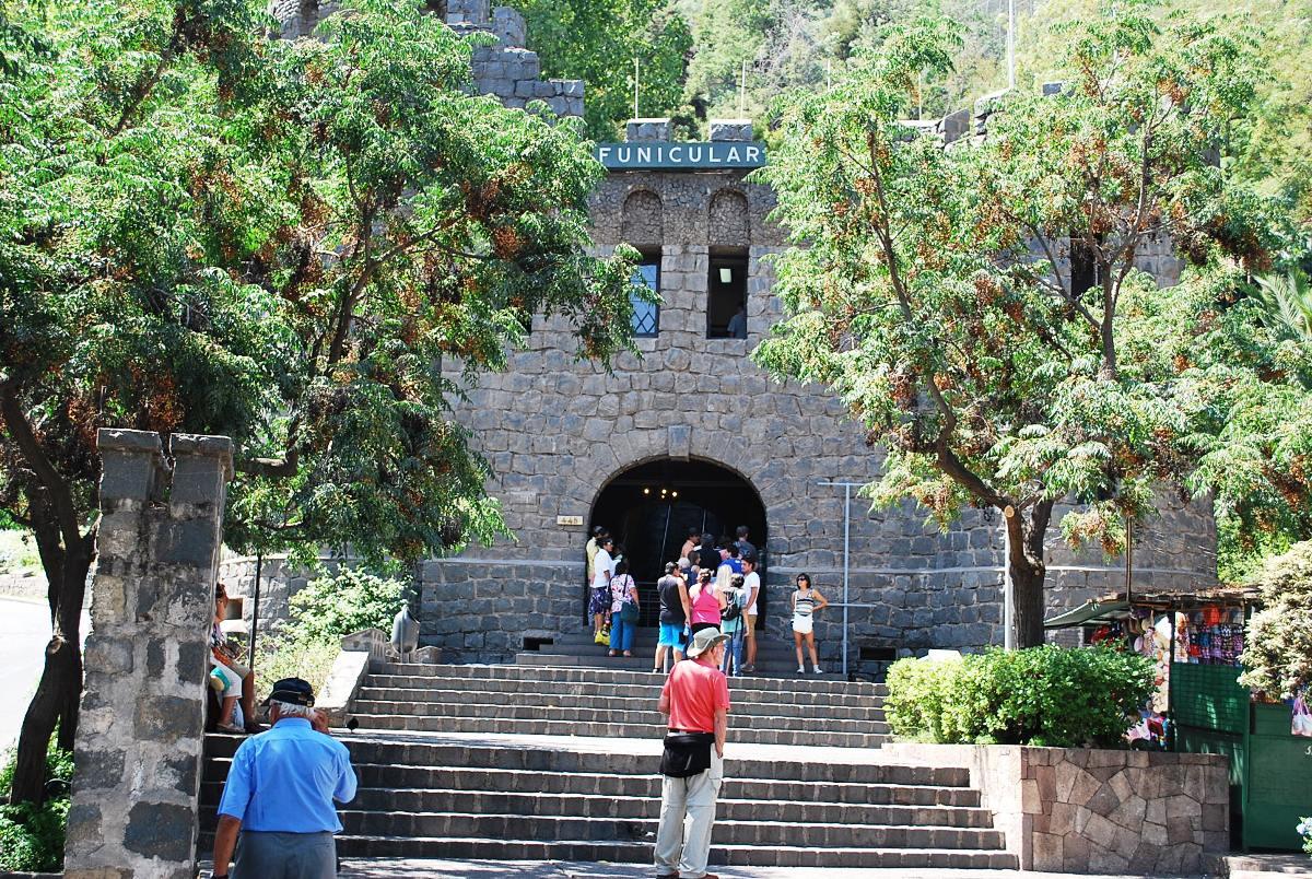 funicular cerro san cristobal, likechile