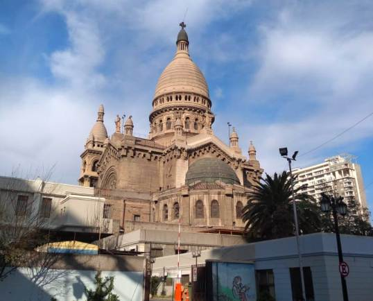 igreja os Sacramentinos em Santiago do Chile