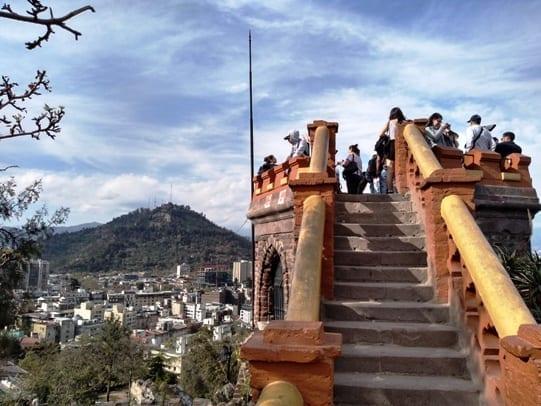 Cerro Santa Lucia, morro santa luzia Santiago Chile, LikeChile