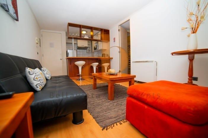 aluguel de apartamentos, flat, arbnb, Bellavista Apartments, Santiago Chile, booking