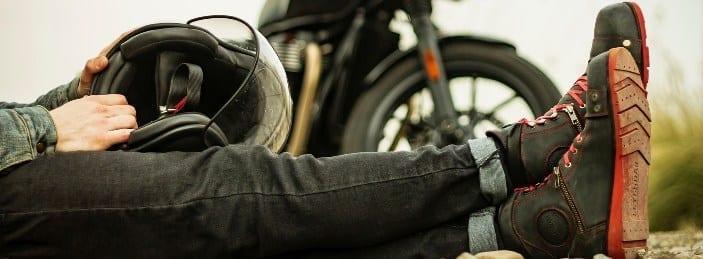sapatos para motocicleta