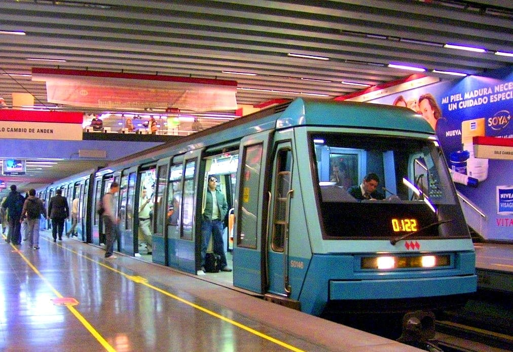 metro de santiago do Chile