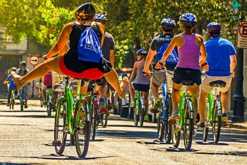 tour de bicicleta em Santiago do Chile, LikeChile, La Bicicleta Verde