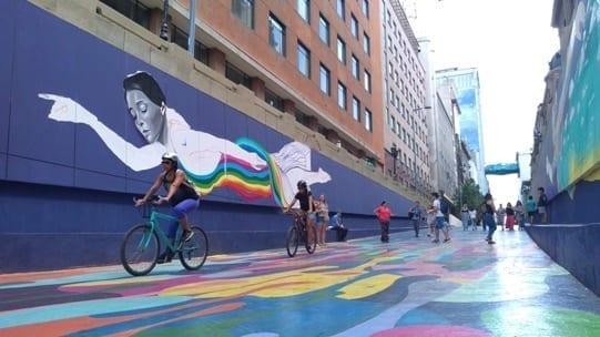 Calle Bandera, Paseo Bandera, Santiago Chile, LikeChile