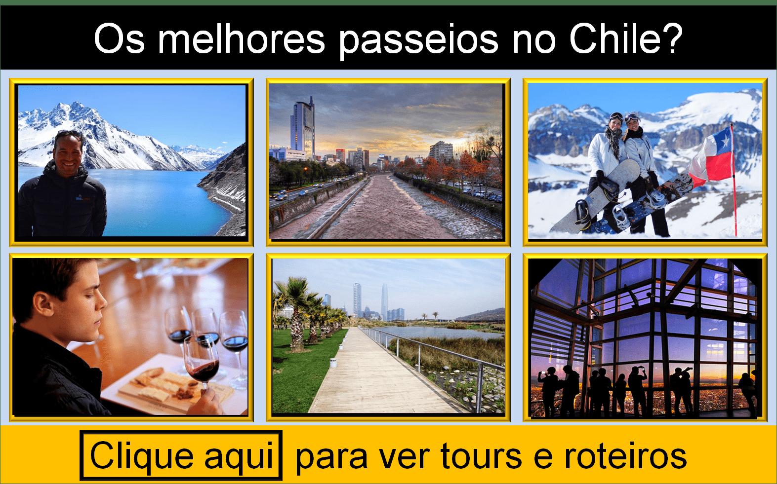 Tours, passeios e roteiros no Chile