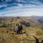 Panorâmico na Cordilheira dos Andes VIP