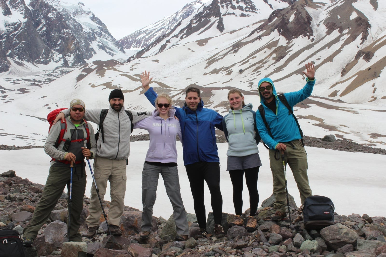Trekking Glaciar El Morado e Termas