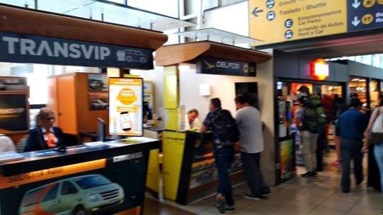 aluguel de carro rent a car no aeroporto de Santiago do Chile