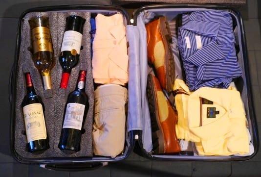 Quantas garrafas posso levar na bagagem