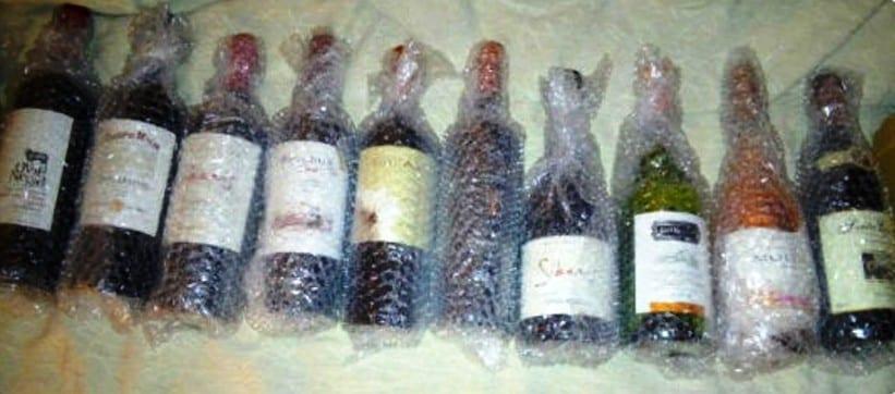 Quantas garrafas posso levar na mala