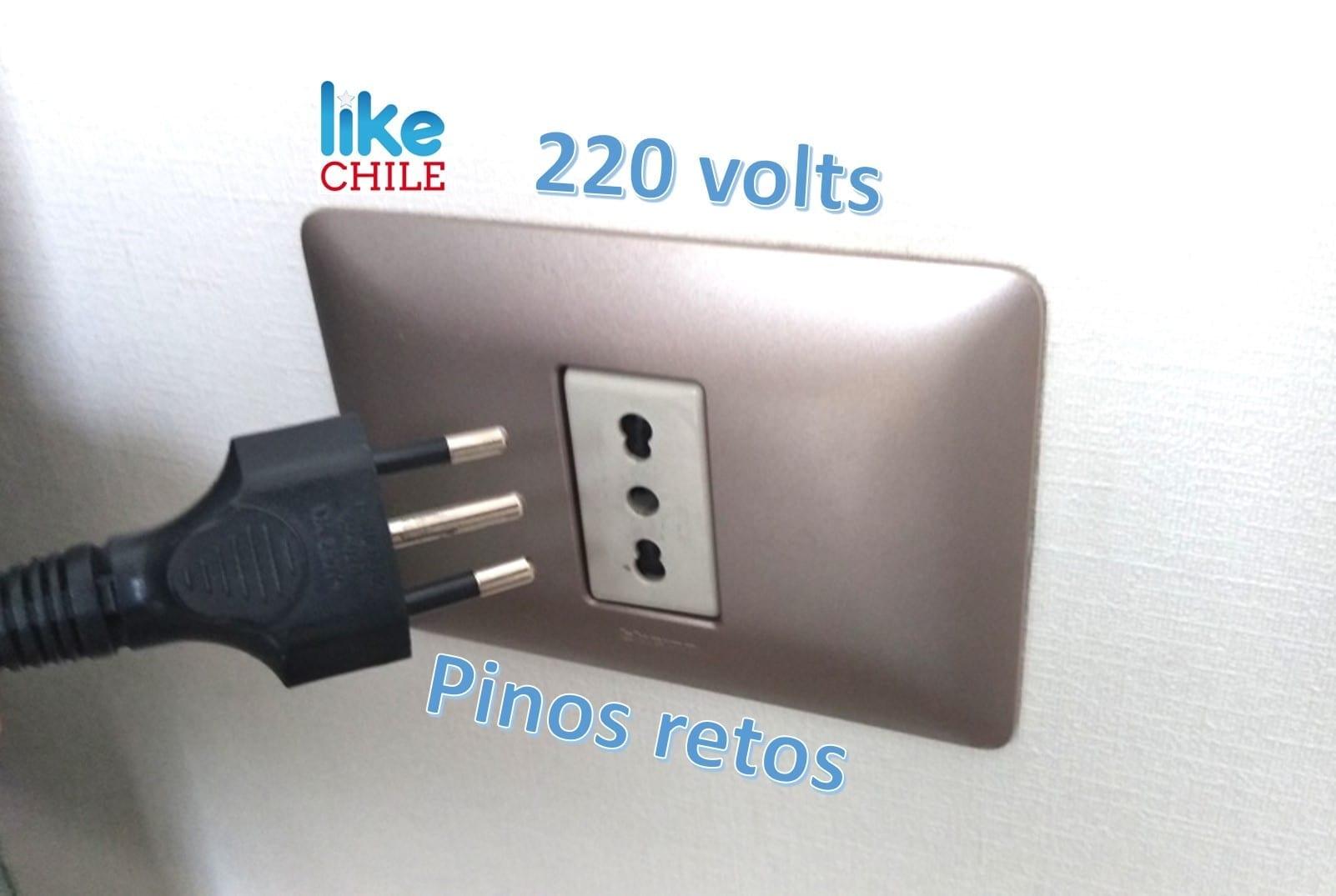 tomadas no Chile e voltagem