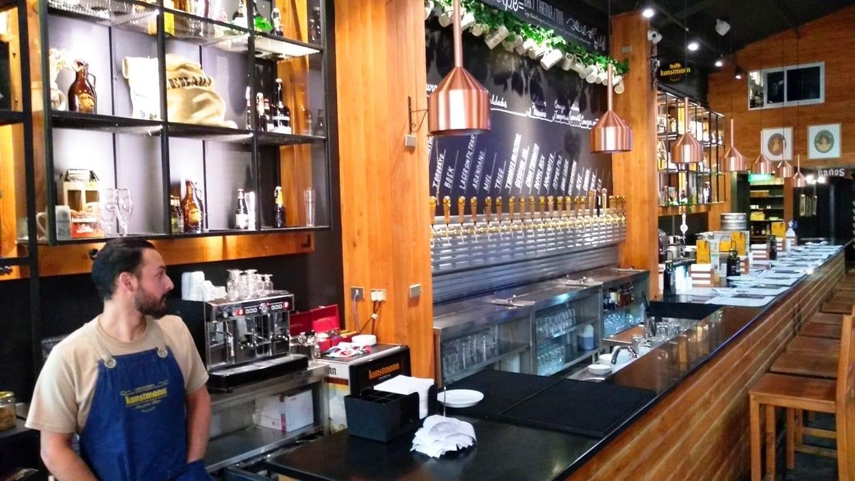 cervejaria Kunstmann em Santiago do Chile, LikeChile, cerveza kunstmann