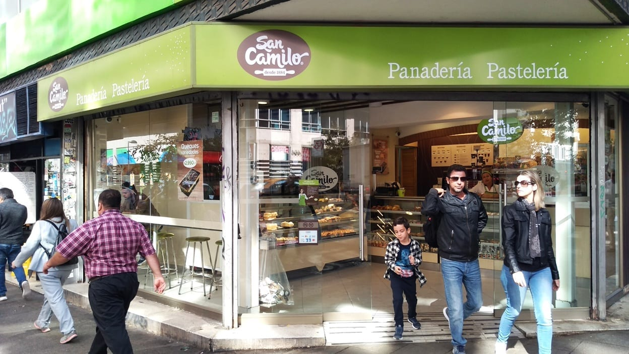 onde tomar café da manhã no Chile, misto quente, pão, Castaño, Paraiso, San Camilo, desayuno, Starbucks