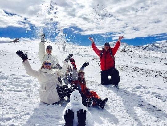 quando tem neve no Chile, LikeChile, neve, tour, passeio