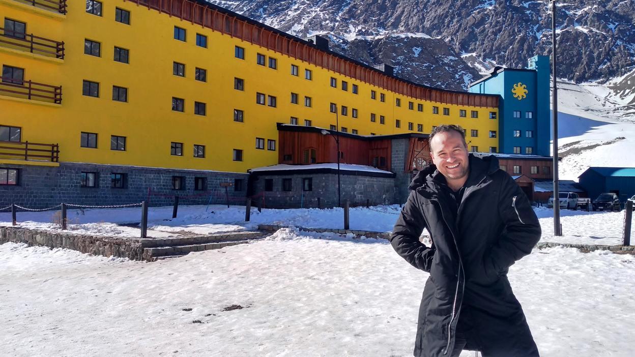 Centro de ski Portillo, neve, como chegar, passeios, cuesta los caracoles, laguna del Inca paso los libertadores chile