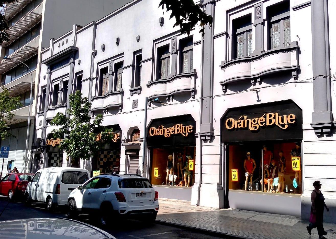 Orange Blue brecho em Santiago do Chile, onde comprar roupa barata, onde comprar roupa de neve, onde comprar roupa de frio, roupa de couro, LikeChile
