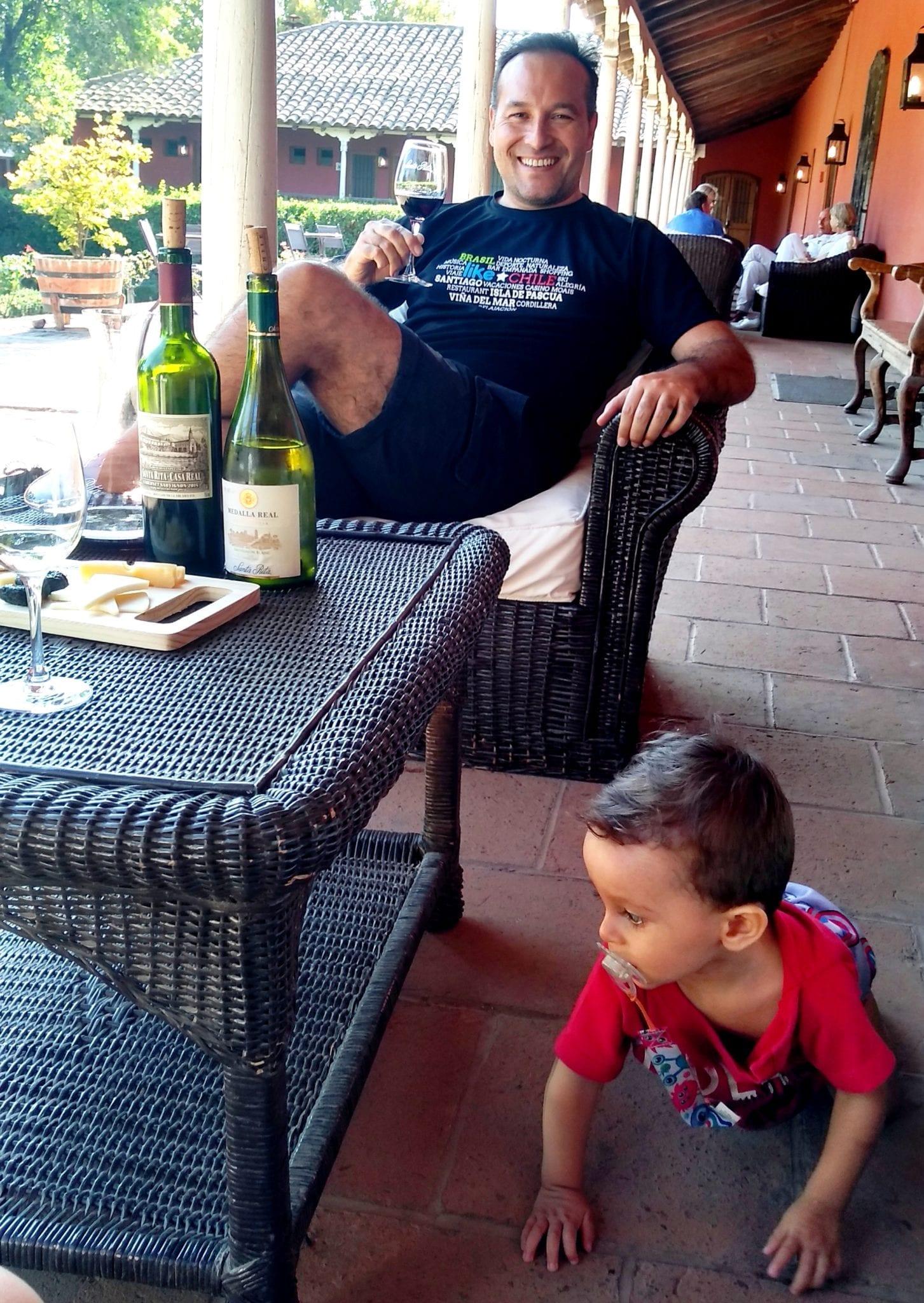 vinicola com criança pode, likechile