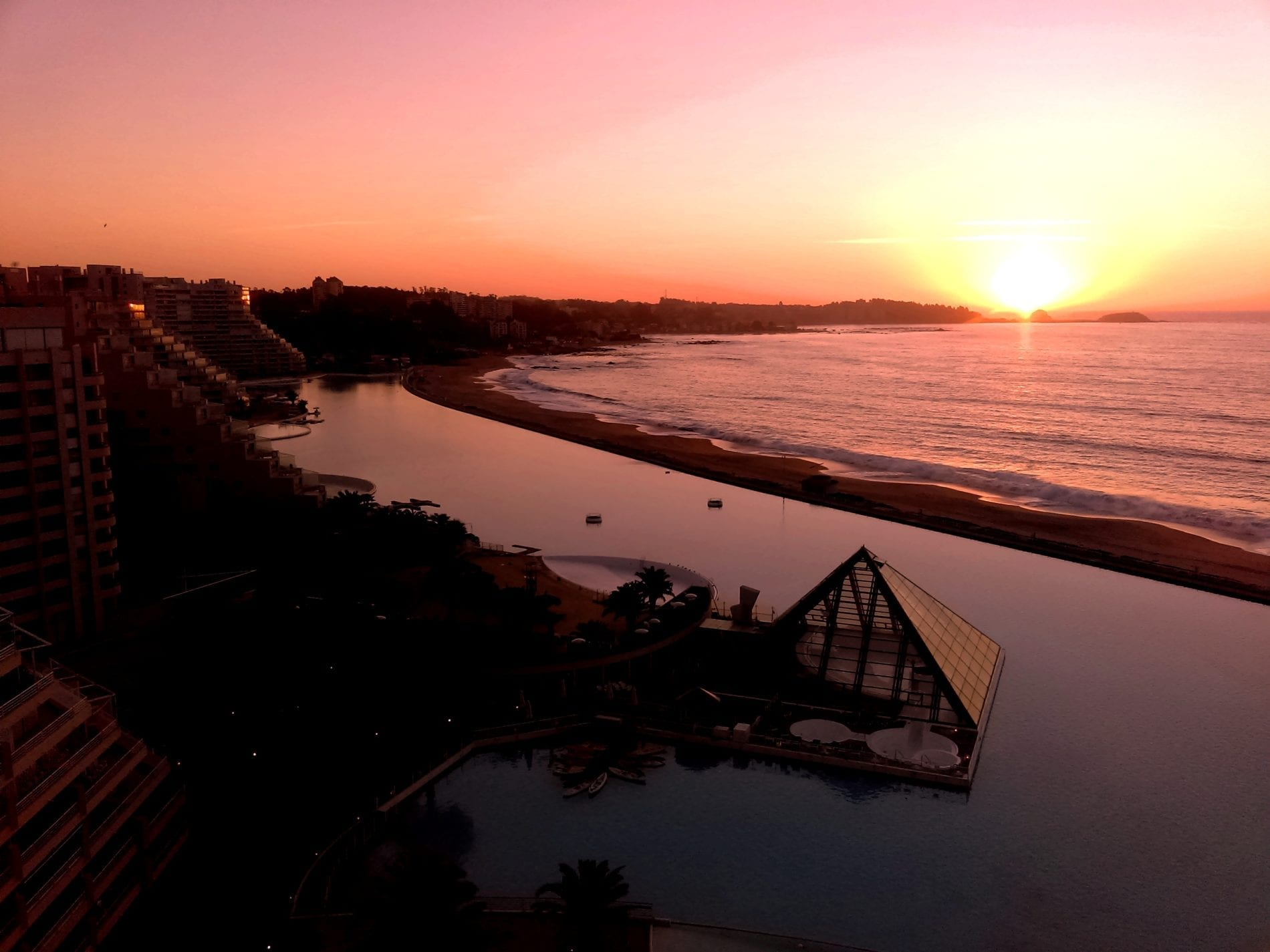 Maior piscina do mundo San Alfonso del Mar Algarrobo Chile LikeChile