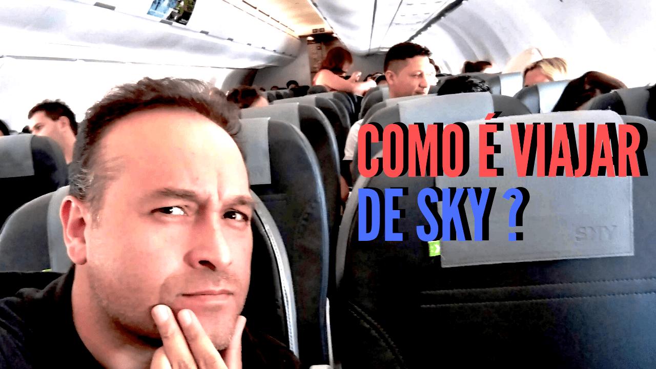 como é viajar de sky airline para o Chile, passagens baratas para o Chile, LikeChile