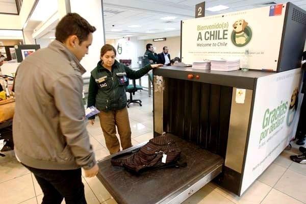 quais produtos posso levar ao Chile, quais produtos proibidos para levar ao Chile