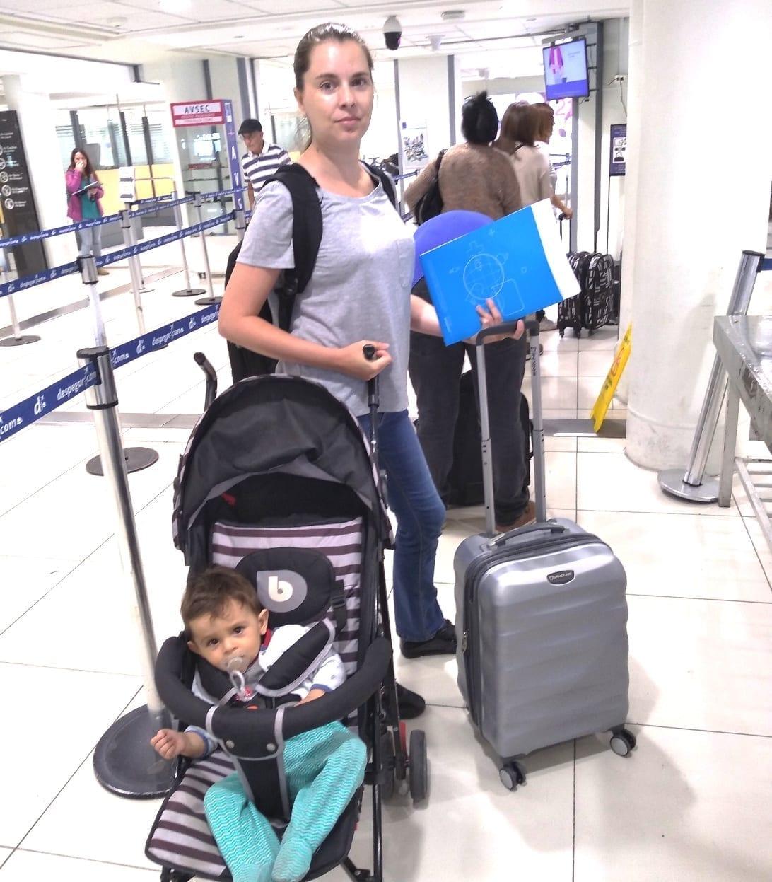 carrinho de criança avião LikeChile