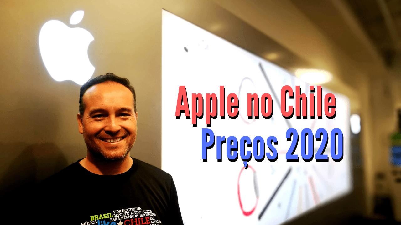 Quanto custa o Iphone no Chile